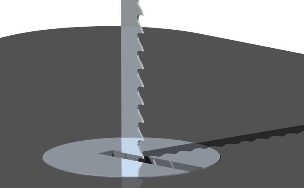 dekopír fűrészlap